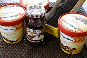 Use your favorite ice cream brand.